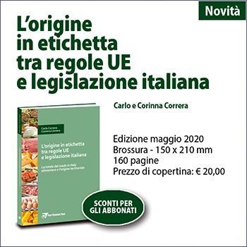 L'origine in etichetta tra regole UE e legislazione italiana